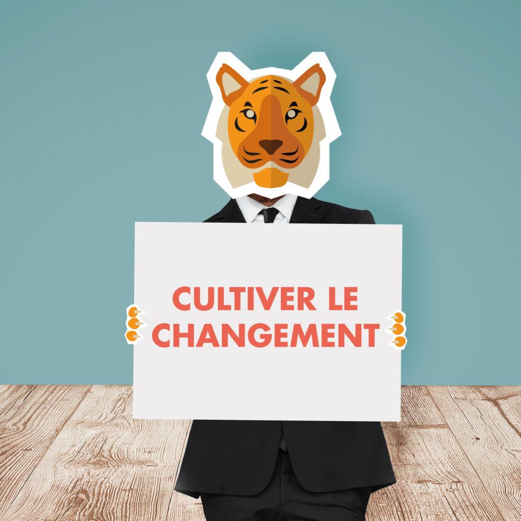 cultiver le changement